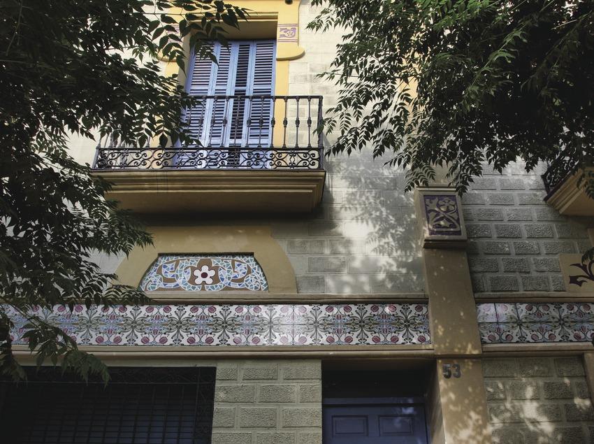Caldes de Montbui. Casa modernista de la localitat   (Consorci de Viles Termals)