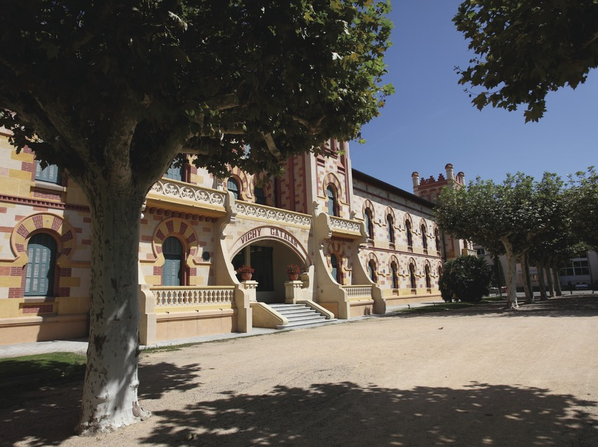 Caldes de Malavella. Façana del Balneari Vichy Catalán   (Consorci de Viles Termals)