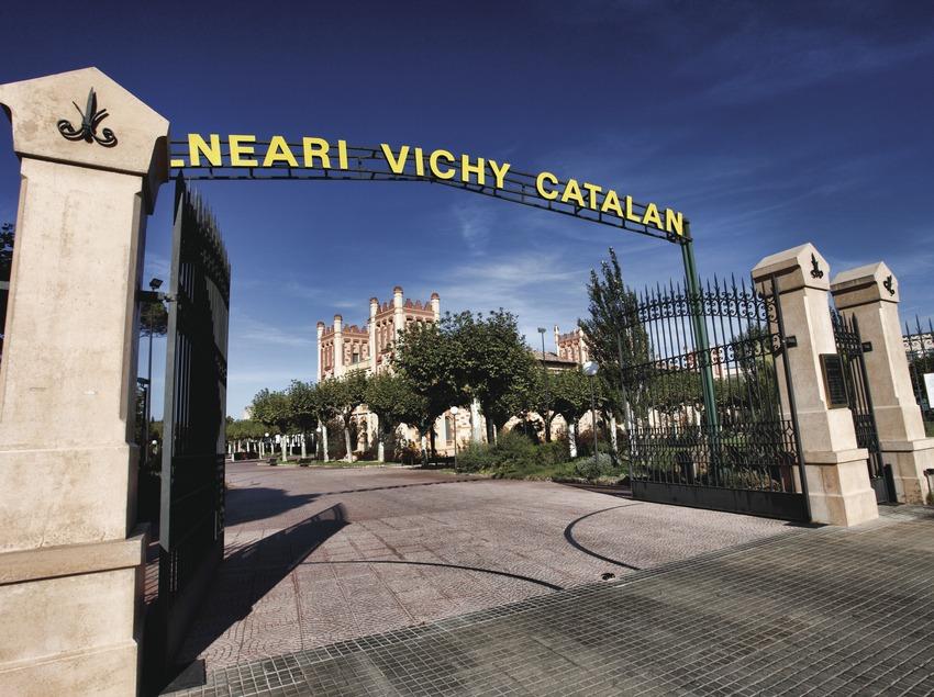 Caldes de Malavella. Entrada del Balneari Vichy Catalán   (Consorci de Viles Termals)