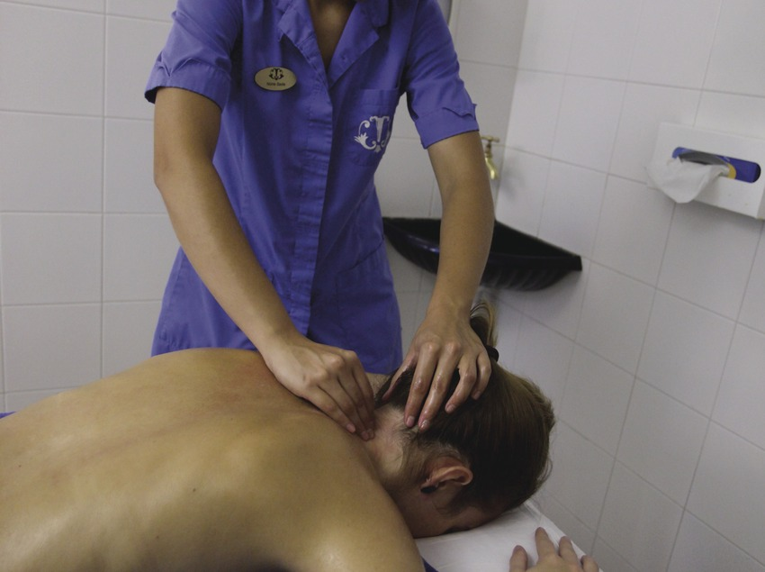 La Garriga. Tratamientos en las termas   (Consorci de Viles Termals)