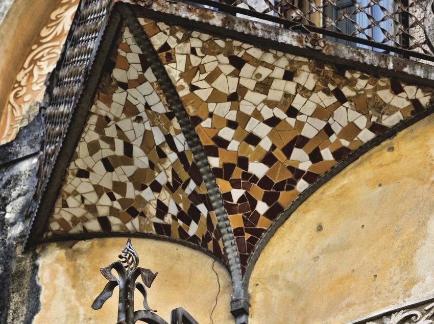 La Garriga. Detall de la masia de Can Raspall   (Consorci de Viles Termals)
