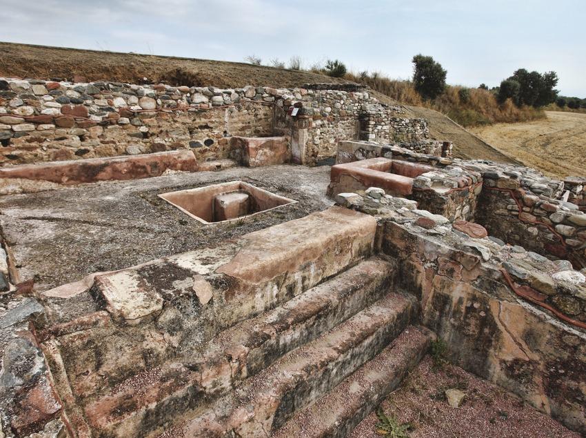 La Garriga. Runes Romanes   (Consorci de Viles Termals)