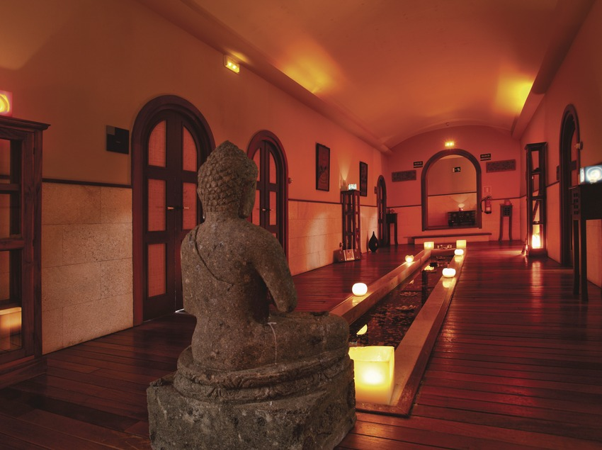 La Garriga. Instalaciones del Balneari Blancafort   (Consorci de Viles Termals)