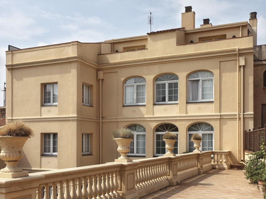 La Garriga. Façana de les Termes La Garriga   (Consorci de Viles Termals)