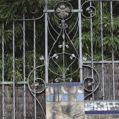 La Garriga. Detall de la masia Can Raspall  (Consorci de Viles Termals)