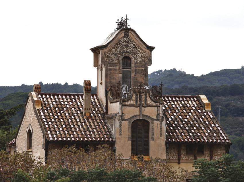 <p>La Garriga. Arquitectura modernista</p> (Consorci de Viles Termals)