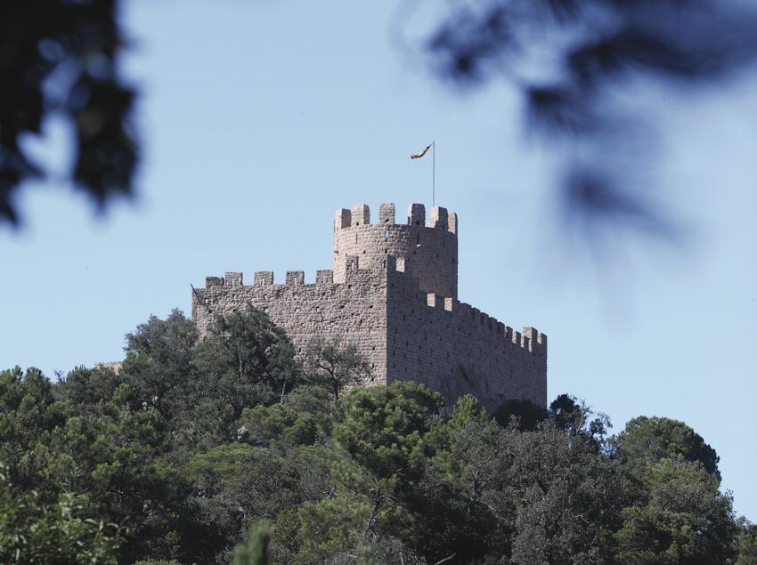 Santa Coloma de Farners. Castillo   (Consorci de Viles Termals)