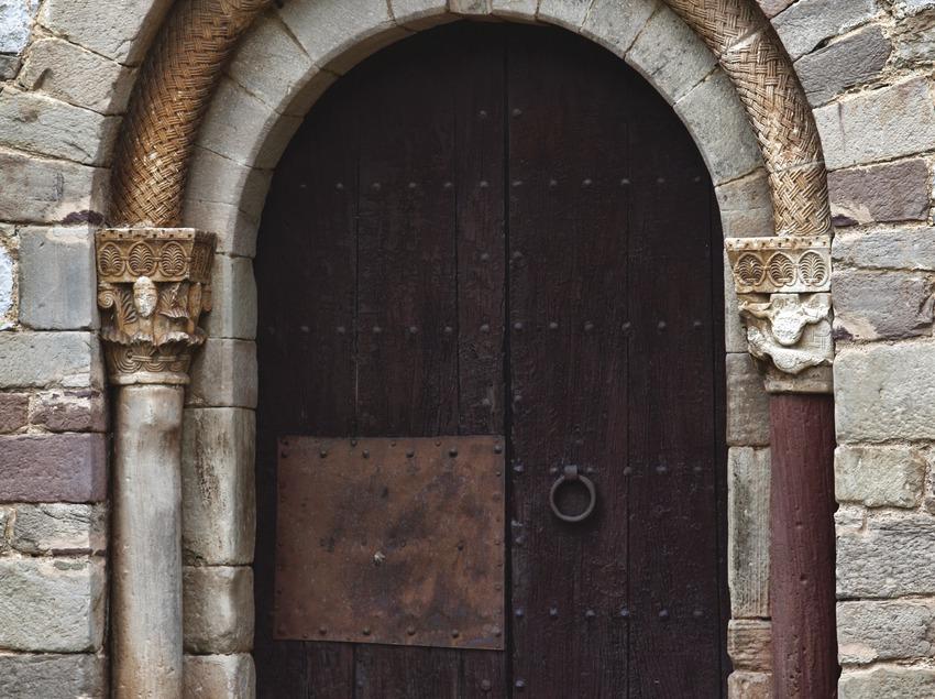 La Garriga. Detall de l'ermita   (Consorci de Viles Termals)