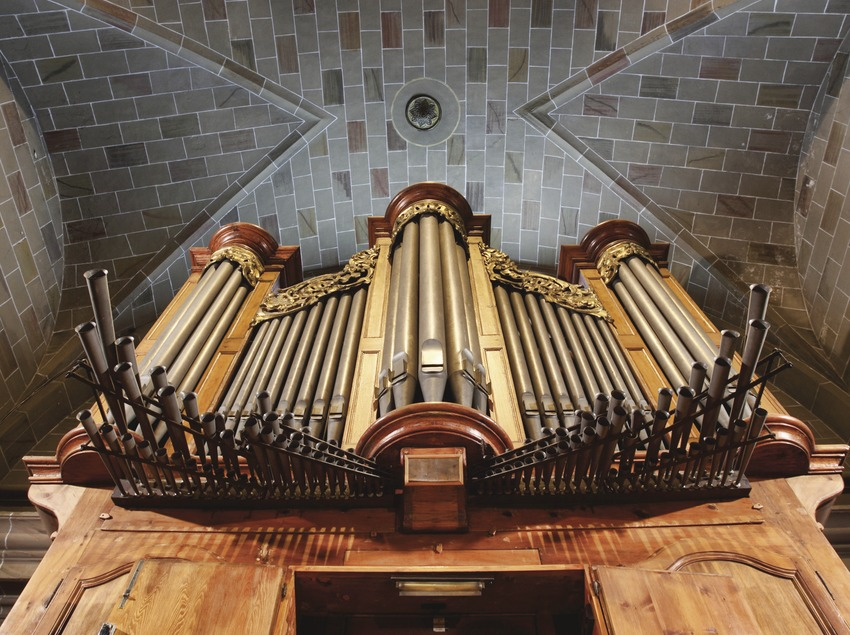 <p>El Vendrell. Orgue de l'església</p> (Consorci de Viles Termals)