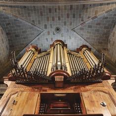 El Vendrell. Órgano de la iglesia