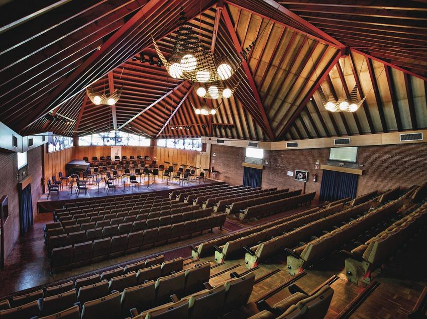 <p>El Vendrell. Interior de l'Auditori Pau Casals</p> (Consorci de Viles Termals)