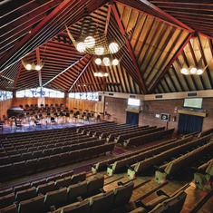 El Vendrell. Interior de l'Auditori Pau Casals