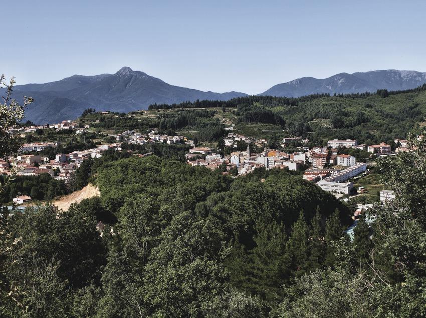 Sant Hilari Sacalm. Vista del pueblo   (Consorci de Viles Termals)