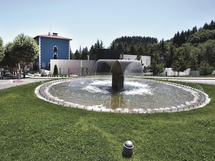 Sant Hilari Sacalm. Instalaciones del Balneari Font Vella   (Consorci de Viles Termals)