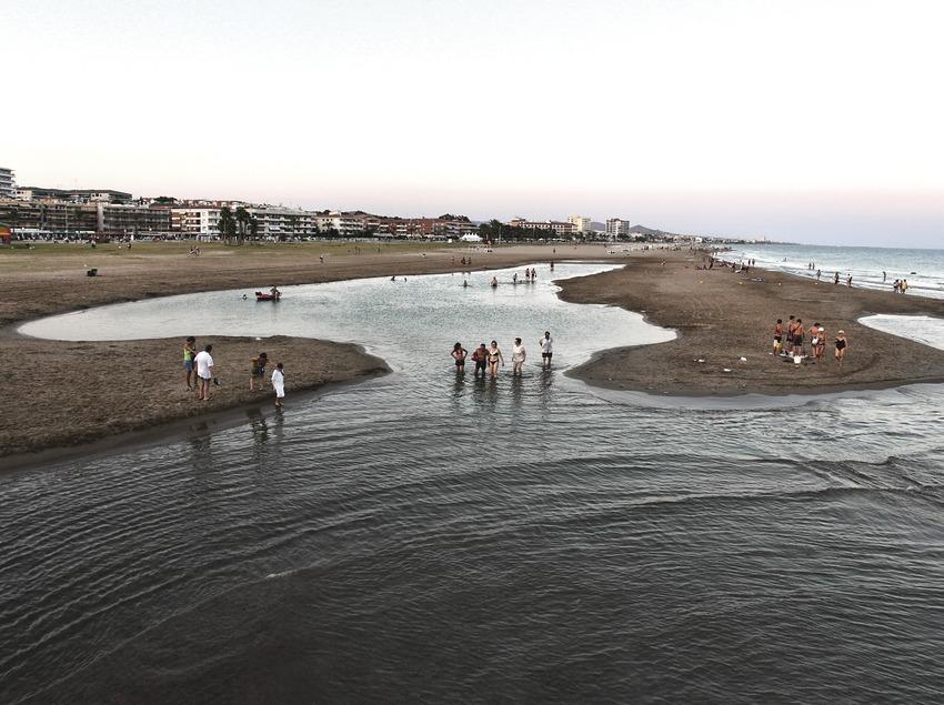 El Vendrell. Río termal de la playa   (Consorci de Viles Termals)