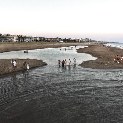 El Vendrell. Riuet termal de la platja   (Consorci de Viles Termals)