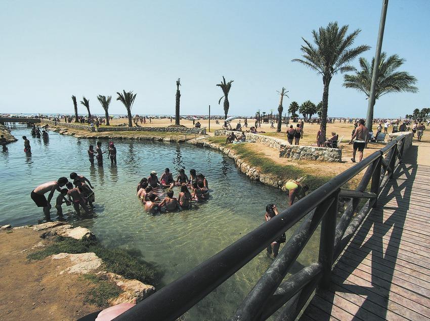 El Vendrell. Riuet termal de la platja   (Ajuntament del Vendrell Patronat Municipal de Turi)