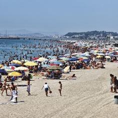 El Vendrell. Playa