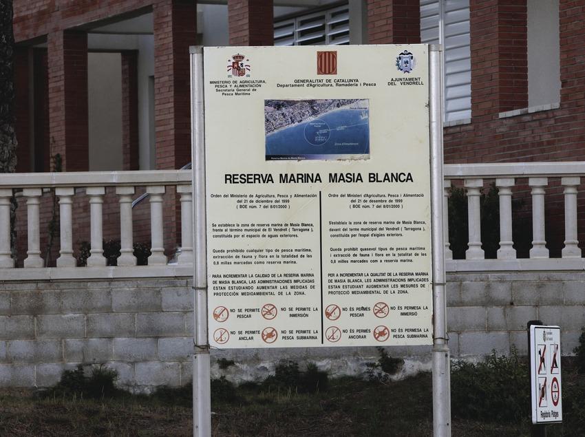 El Vendrell. Reserva Marina de la Masia Blanca  (Consorci de Viles Termals)