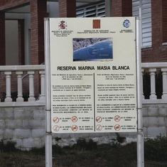 El Vendrell. Reserva Marina de la Masia Blanca