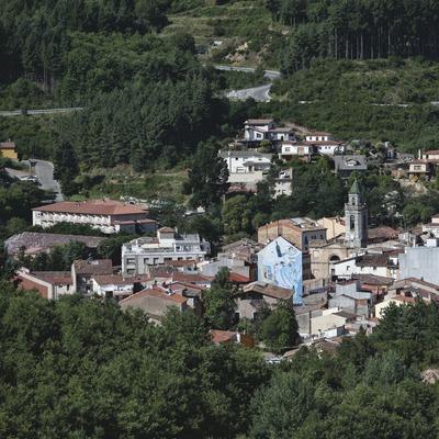 Sant Hilari Sacalm. Vista general del poble   (Consorci de Viles Termals)
