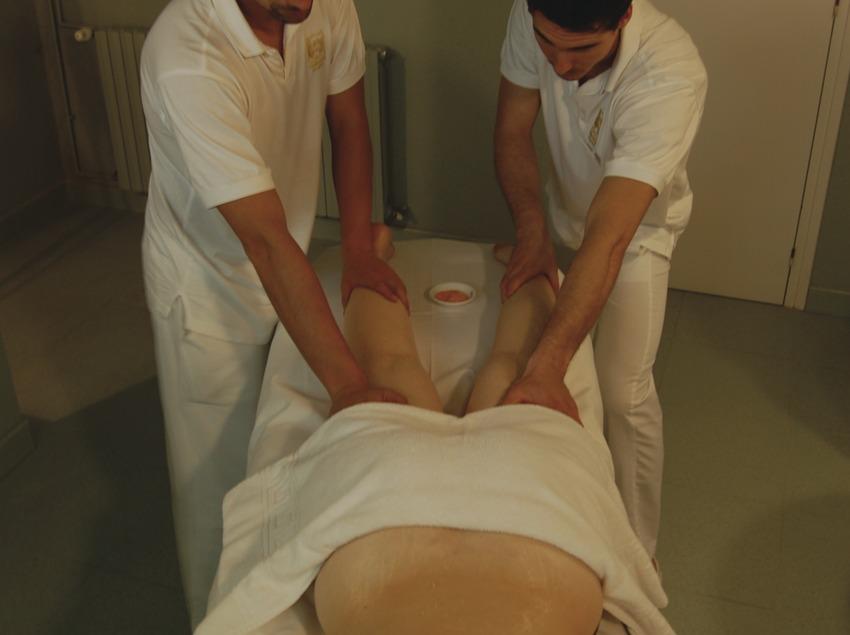 Caldes de Boí. Massatge a quatre mans al balneari   (Balneari Caldes de Boí)