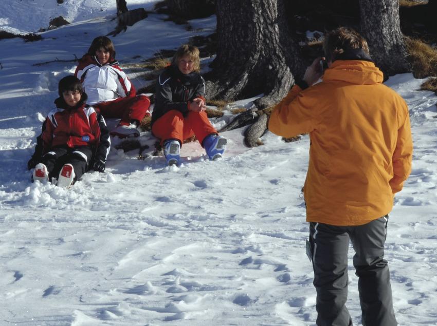 Pirineus. Esquiadors a Baqueira-Beret   (Oficina de Turisme de Baqueira-Beret)