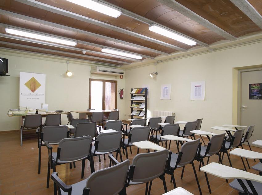 Terres de l'Ebre. Sala de conferències de l'Alberg Mas de la Coixa, a Móra la Nova