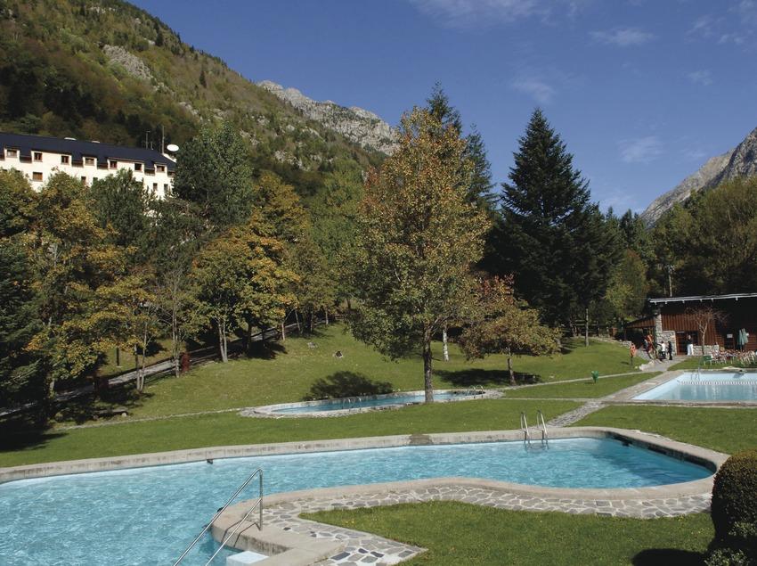 Caldes de Boí. Piscinas del balneario   (Balneari Caldes de Boí)