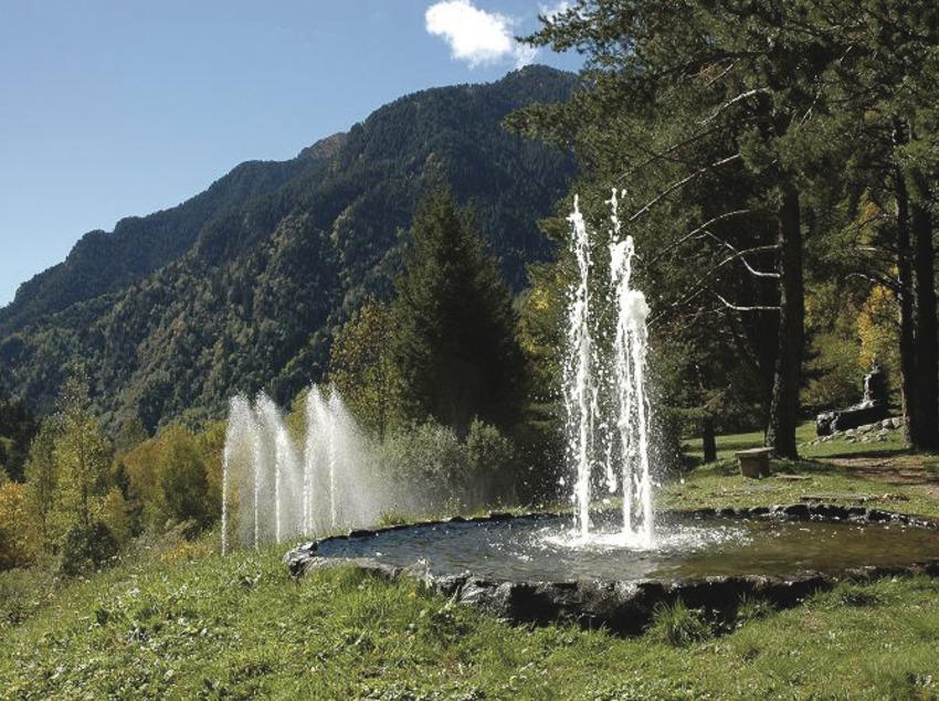Caldes de Boí. Fonts del balneari   (Balneari Caldes de Boí)