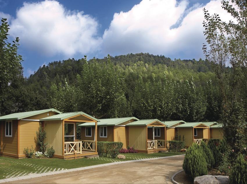 Costa Brava. Bungalós en el Bassegoda Park Camping   (Bassegoda Park)