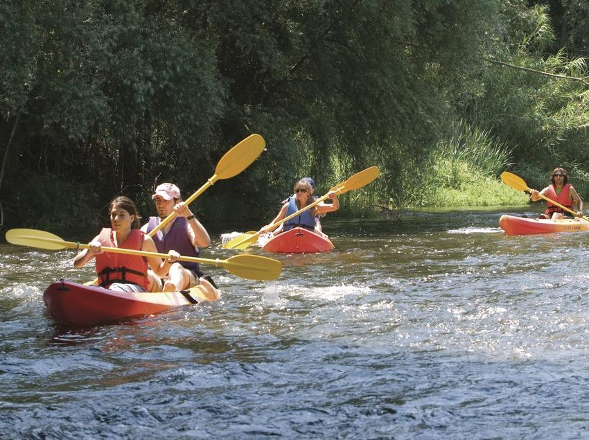 Costa Brava. Gironès Fontajau Activitats de Natura, caiac   (Consell Comarcal del Gironès)