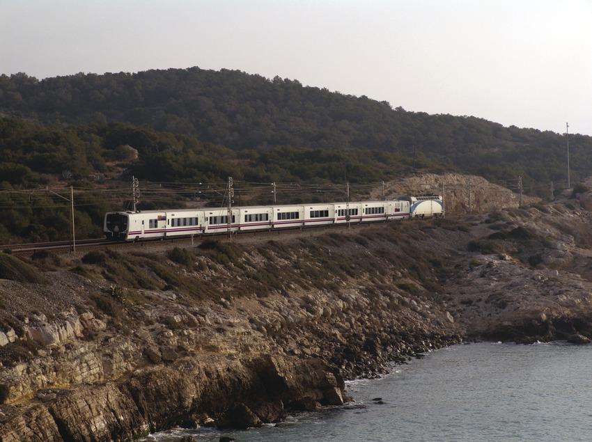 Barcelona. Foto exterior de l'Elipsos Trenhotel   (Elipsos Internacional)