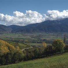 Pirineos. Vista de La Cerdanya