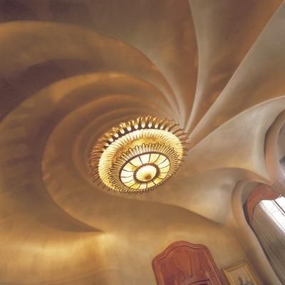 Interior de la Casa Batlló. Antoni Gaudí. Barcelona.