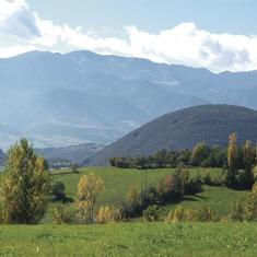 Pirineos. Paisaje de La Cerdanya