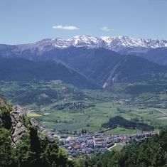 Pirineos. Bellver de Cerdanya