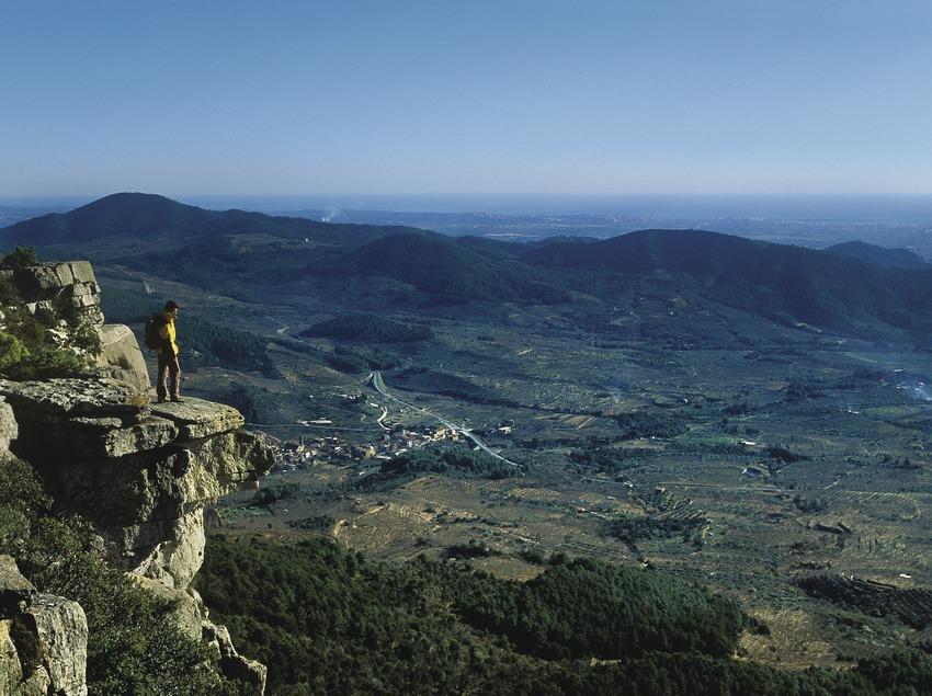 Costa Daurada. Montañas cerca de Reus   (Consell Comarcal Baix Camp)