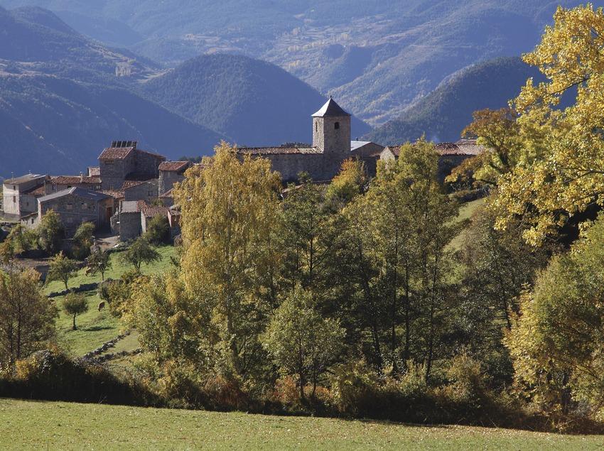 Pirineus. Vista de Músser, a la Cerdanya