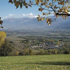 Pirineos. Vista de Bellver de Cerdanya