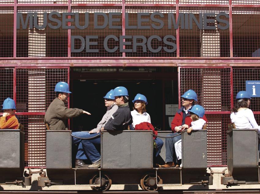Pirineos. Visita al Museu de les Mines de Cercs   (Xatic. Xarxa de Turisme Industrial de Catalunya)