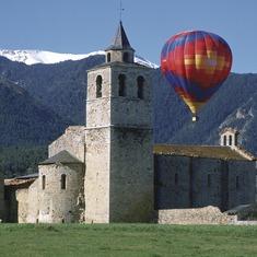 Pirineos. Vuelo en globo en La Cerdanya