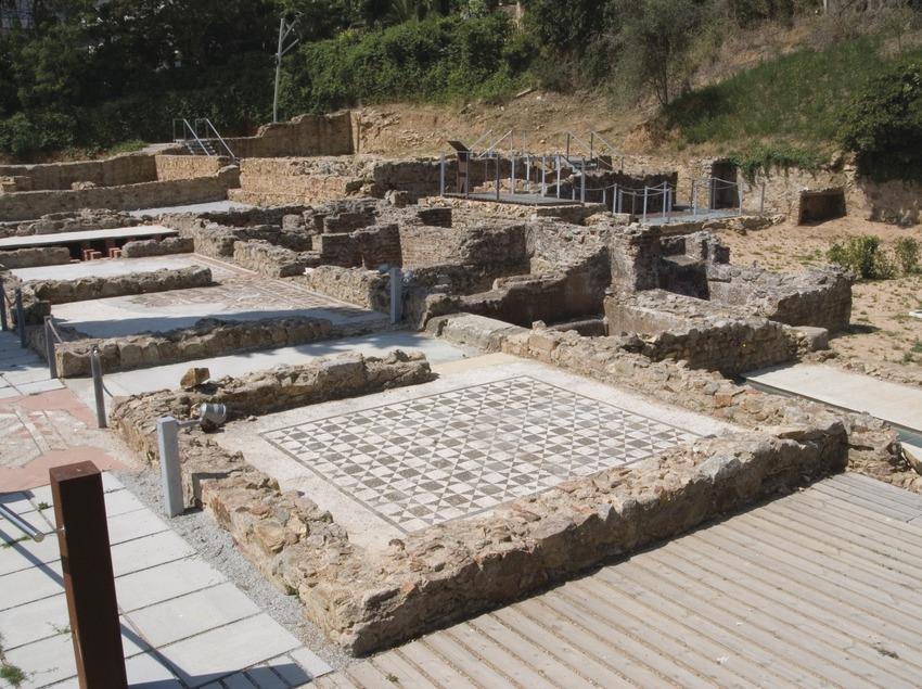 Costa Brava. Villa romana de Els Ametllers, en Tossa de Mar   (Oficina Municipal de Turisme de Tossa de Mar)