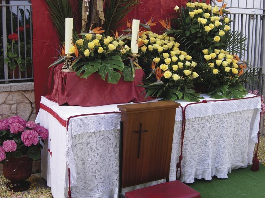 Costa Brava. Altares por el Corpus en Tossa de Mar   (Oficina Municipal de Turisme de Tossa de Mar)