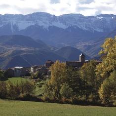 Pirineos. Vista de Músser, en La Cerdanya