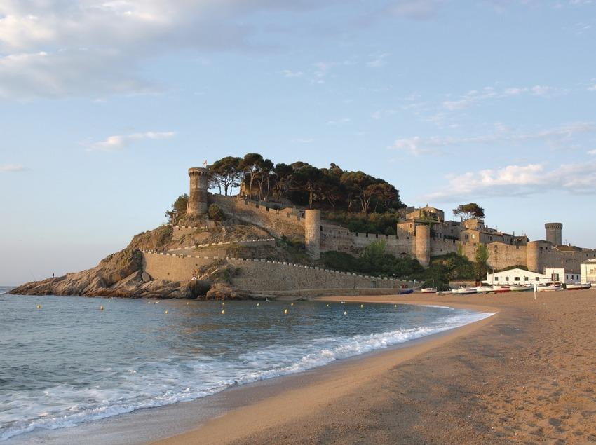 Costa Brava. Vila Vella de Tossa de Mar