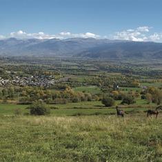 Pirineos. Vista de Puigcerdà, en La Cerdanya