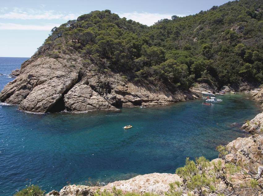 Tossa de Mar. natura_la costa de Tossa   (Oficina Municipal de Turisme de Tossa de Mar)