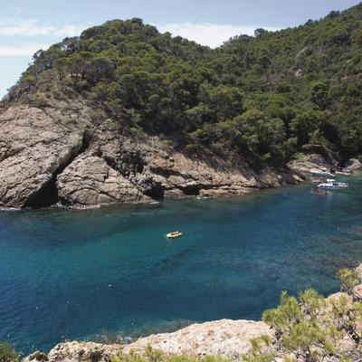 Tossa de Mar. natura_la costa de Tossa