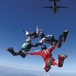 Costa Brava. Campionat Nacional de Paracaigudisme a Castelló d'Empúries